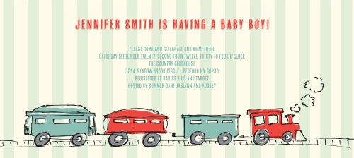 Train conductor baby shower invitations by basic invite filmwisefo