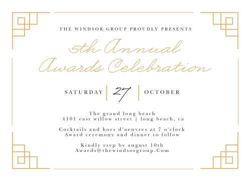 Celebrate the night away with our stunning Ceremonial Celebration Gala Invitations.