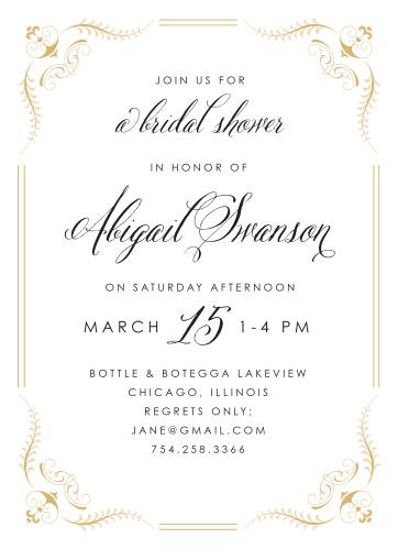 Bridal shower invitations wedding shower invitations basicinvite fancy affair bridal shower invitations filmwisefo