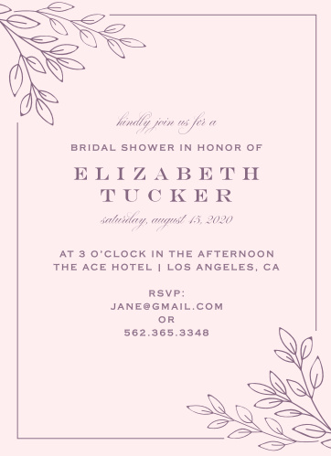 Bridal shower invitations wedding shower invitations basicinvite enchanted garden bridal shower invitations filmwisefo