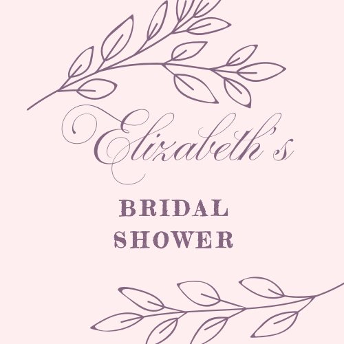 Our Enchanted Garden Bridal Shower Stickers are perfect for your outdoor or seasonal event!