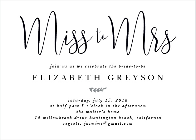 Bridal shower invitations wedding shower invitations basicinvite the new mrs bridal shower invitations filmwisefo