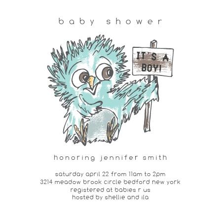 Owl Baby Boy Shower Invitations