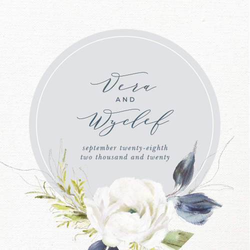 Our gorgeous Oil Paint Textured Coaster is the perfect gift- both for your venue's tables and for your guests to take home after your big day.