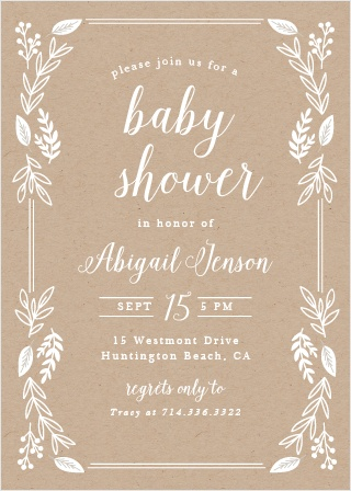 Baby shower invitations for boys basic invite petite jardin baby shower invitations filmwisefo Gallery