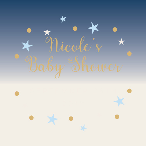 Our Twinkle Little Star Baby Shower Stickers are heartwarmingly sweet!