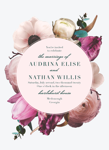 Our Southern Romance Wedding Invitations are a perfect choice for your perfect day.