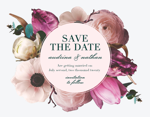 Our Southern Romance Save-the-Date Cards are a perfect choice for your perfect day.