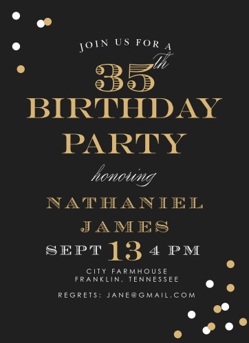 Adult birthday invitations match your color style free festive type adult birthday party invitations filmwisefo