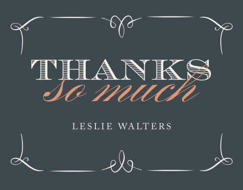 Say thank you in style with our Hello Thirty Adult Birthday Thank You Cards.