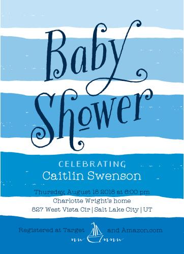 Baby shower invitations 40 off super cute designs basic invite beach waves baby shower invitations filmwisefo
