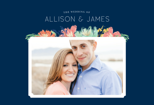 Simplify your wedding planning and skip the guesswork with our Tropical Blooms Website.