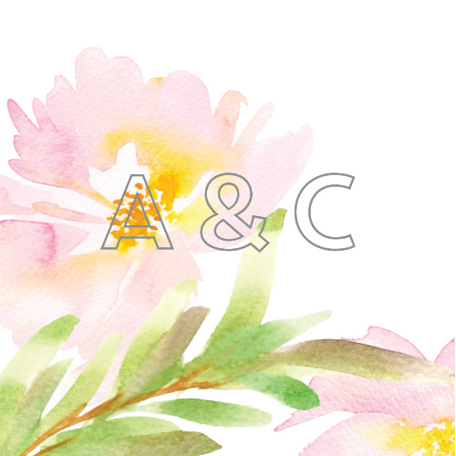 Give your wedding stationery an extra splash of energy with our Summer Bouquet Wedding Stickers.