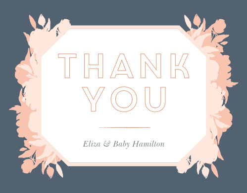 Show your appreciation with our Pink Bouquet Baby Shower Thank You Cards.