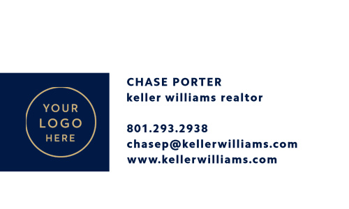 Let our Real Estate Logo Business Cards do the talking.