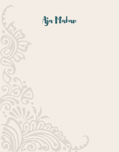 Share your passion for your craft and your students with our Yoga Instructor Business Stationery.