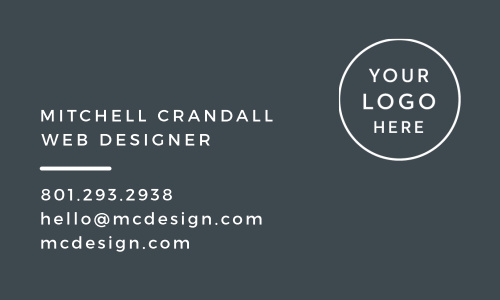 Business cards design your cards instantly online basic invite modern minimal logo business cards colourmoves