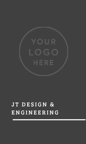 Our Engineer Monogram Logo Business Cards offer a sleek, minimalistic representation of your skills- a simple solution for any problem, and a simple card for any client.