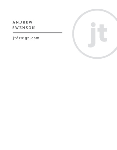 Our Engineer Monogram Business Stationery offers a sleek method for taking notes and writing invoices.