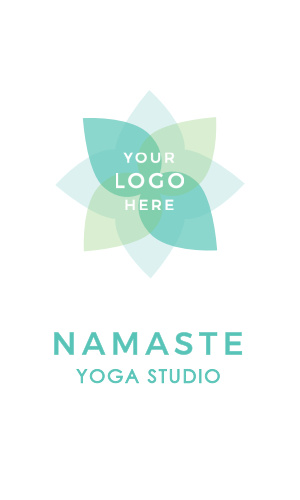 Need something more relaxed and calming? Give our Lotus Yogi Logo Business Card a try.
