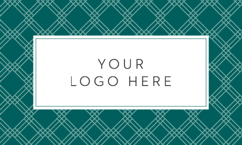 Our Posh Pattern Logo Business Cards are both eye-catching and memorable.