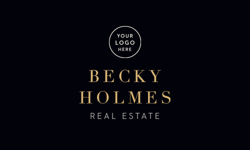 Upgrade to luxury class with our Real Estate Key Logo Business Cards.