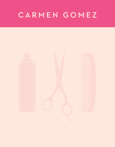 Show your vibrant love for your profession of a hairdresser with the tools that help you do it best with our Hair Stylist Business Stationery.