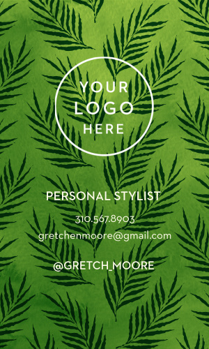Hipster Stylist Business Cards will let you stand out in a fun and bold way.