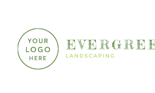 Our Landscaping Leaf Business Cards feature ample space for your logo and paired with a matching set of fonts.