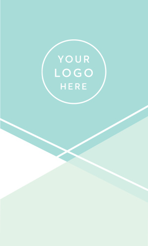 If your line of business calls for a touch of subtle elegance, our Cool Ocean Logo Business Cards are a perfect fit.