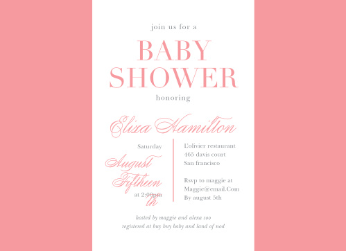 Elevate to elegance with our Light Flowers Baby Shower Invitations.