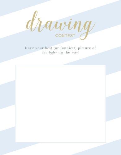 Stunning stripes baby song contest by basic invite stunning stripes baby drawing contest reheart Images