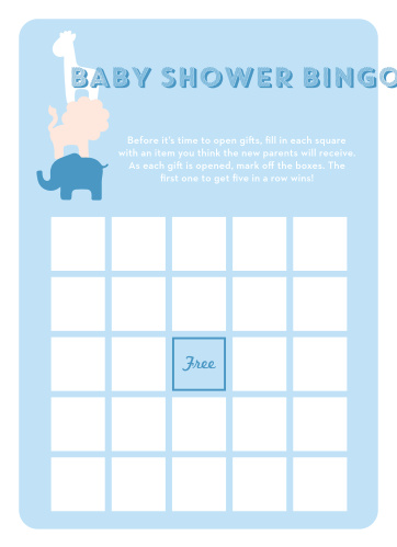 Keep the magic and surprise alive with our Safari Soiree Baby Shower Bingo.