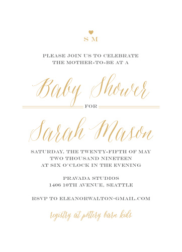 Baby shower invitations 40 off super cute designs basic invite simple chic baby shower invitations filmwisefo