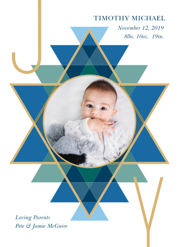 Our Hanukkah Baby Hanukkah Cards are a gorgeous way to send your holiday joy to your nearest and dearest friends and family.