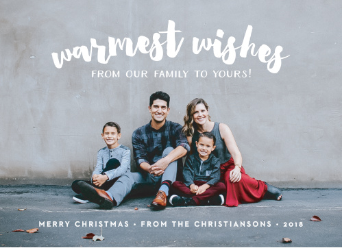 Send your loved ones our Modern Snapshot Christmas Cards this holiday season.