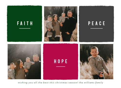 Christmas cards 30 off super cute designs basic invite faith blocks christmas cards solutioingenieria Image collections