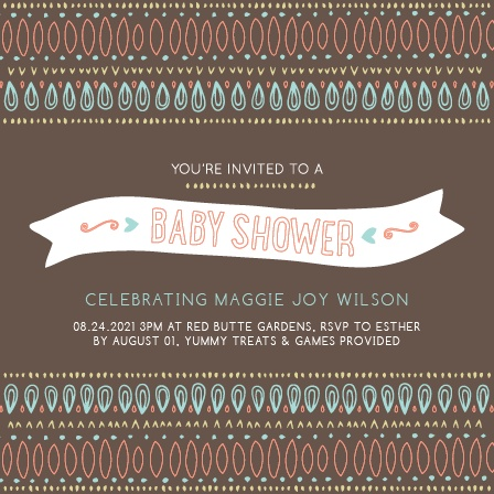 Aztec baby shower invitations match your color style free trendy tribal baby shower invitation filmwisefo