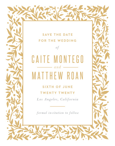 Basic invite wedding invitations wedding enclosures wedding our medieval library save the date magnets will have your guests beaming with delight stopboris Image collections