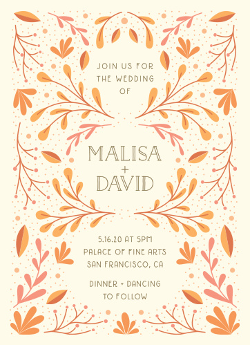 Wedding invitations match your color style free rustic fall wedding invitations filmwisefo