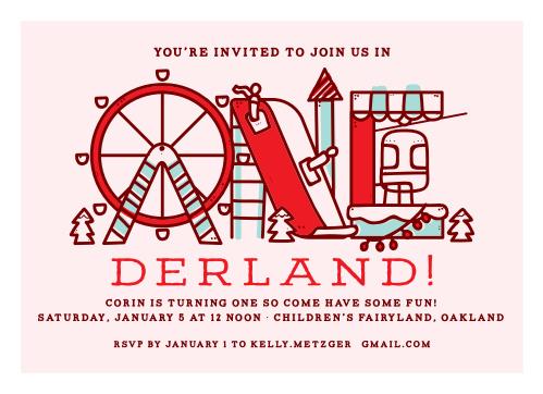 Kids birthday invitations kids birthday party invites basic invite birthday onederland childrens birthday party invitations filmwisefo