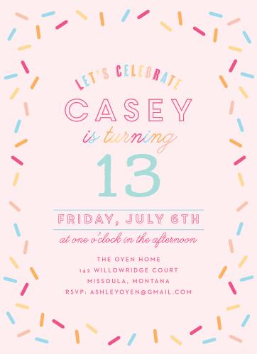 Kids birthday invitations kids birthday party invites basic invite joyful sprinkles childrens birthday party invitations filmwisefo