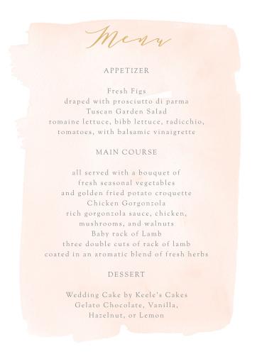 wedding menus design your menu instantly online basic invite