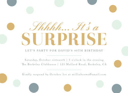 Birthday invitations birthday party invites basic invite surprise confetti milestone birthday party invitations filmwisefo