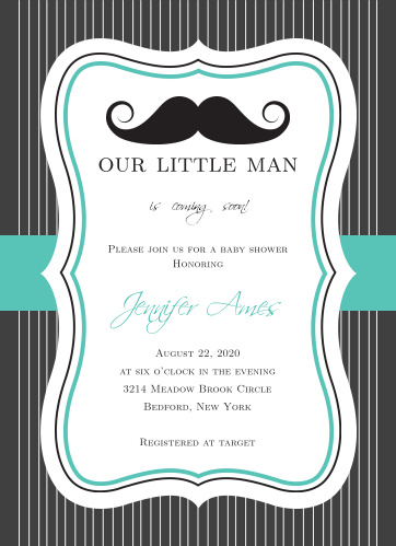 Mustache baby shower invitations match your color style free little man baby shower invitation filmwisefo
