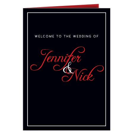 The Photo Split wedding program is a perfect match to the rest of The Photo Split wedding suite.