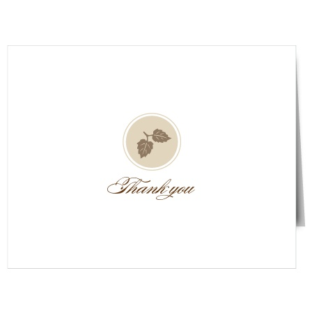 Show your gratitude with The Elegant Fall Scrolls Thank You card. Customize all the colors and fonts perfectly to your liking!