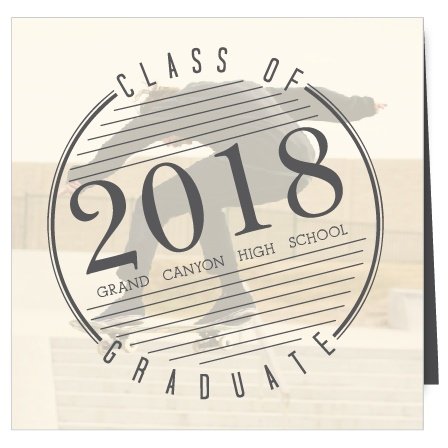 Logo Graduation Announcement