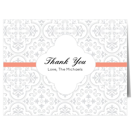 Show your gratitude with The Modern Triple Hearts Thank You card. Customize all the colors and fonts perfectly to your liking!