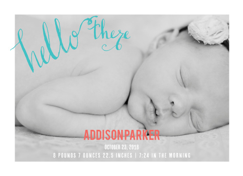 18 Welcoming Birth Announcement Wording Ideas – Preemie Birth Announcements